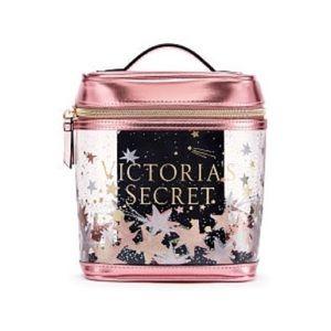 Victorias Secret Small Train Case Makeup Bag